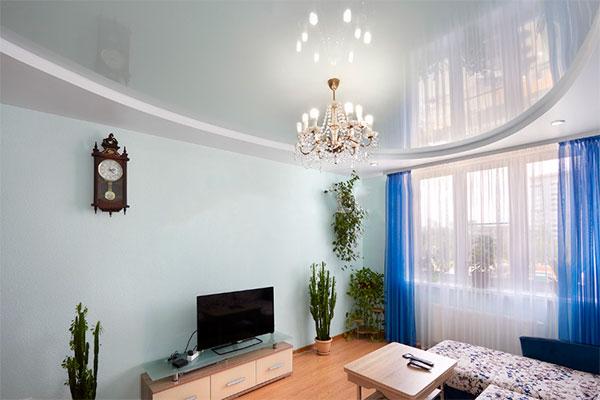 Цены на глянцевые натяжные потолки в Одессе и области
