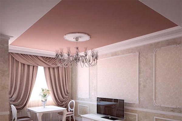 Цены на сатинированные натяжные потолки в Одессе и области